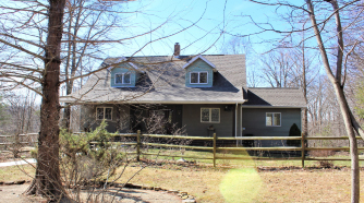 home on 36.73 acres in hocking county